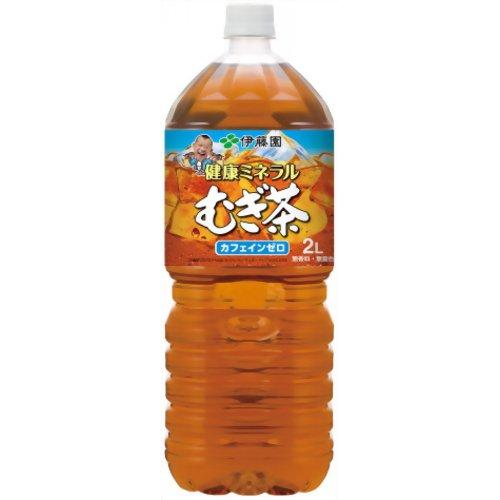 ■他商品同梱不可■ 伊藤園 健康ミネラルむぎ茶 2L 2000ml 6本セット