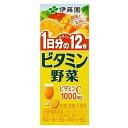 ■他商品同梱不可■ 伊藤園 ビタミン野菜 紙パック 200ml 24パックセット