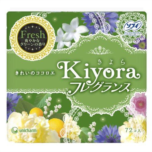 ソフィ kiyora フレグランス フレッシュ 72枚の商品画像