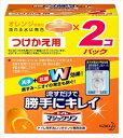 花王 トイレマジックリン トイレ用洗剤 流すだけで勝手にキレイ オレンジの香り 付替用 80g×2個