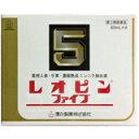 【第3類医薬品】レオピンファイブW 60ml×4本入【 使用期限:2018/12 】