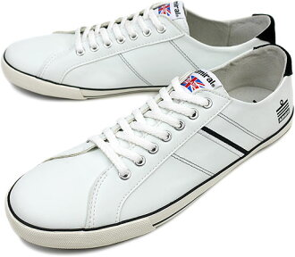 ■ surprise 40 %OFF! ■ Admiral Admiral sneakers WATFORD Watford WHITE/BLACK ( SJAD0705-0102 SS12 ) fs3gm