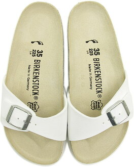 BIRKENSTOCK Birkenstock Womens mens ladies men's MADRID Sandals Madrid white birken-stuck ladies ladies ' men's Dancewear (040733 / 040731-CLASSIC) fs3gm