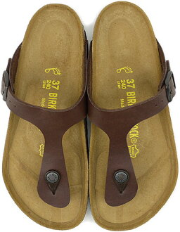 BIRKENSTOCK Birkenstock Womens mens GIZEH sandal guise BF Dark Brown birken-stuck ladies men's ladies ( 043961 ) fs3gm