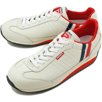 PATRICK MARATHON-L Patrick Sneakers Shoes Marathon leather tricolor ( 98800 ) fs3gm