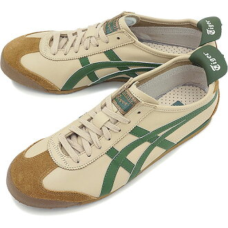 Onitsuka Tiger MEXICO 66, ONITSUKA Tiger ONITSUKA Tiger sneakers Mexico 66 beige / green glass ( THL202-1785 ) fs3gm