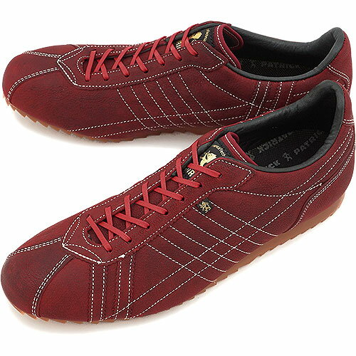 PATRICK パトリック スニーカー メンズ レディース 靴 SULLY-GT シュリーゴート RED (526627 FW14)日本製 Made in Japan