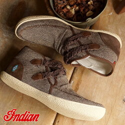 ��¨Ǽ��INDIAN����ǥ����󥹥ˡ��������ID-8016����ǥ�����֡��ĥ���åݥ�BROWN��ID8016FW15�ˡ�bp�ۡڤ������б���