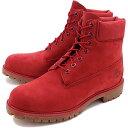 【即納】ティンバーランド 6インチ プレミアム ブーツ Timberland メンズ ブーツ 6inch Premium Red Nubuck Monochromatic (A1149 FW16)【コンビニ受取対応商品】
