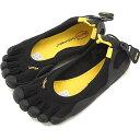Vibram FiveFingers ビブラムファイブフィンガーズ レディース WMN CLASSIC Black/Black ビブラム ファイブフィンガーズ 5本指シューズ ベアフット 靴 [W108]