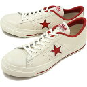 【即納】【返品サイズ交換可】CONVERSE コンバース ONE STAR J ワンスター J ホワイト/レッド 靴 (32346512)【e】【コンビニ受取対応商品】