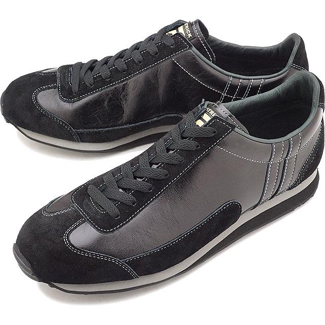 【即納】【返品送料無料】PATRICK パトリック スニーカー 靴 BOSTON-L II ボストン・レザー2 BLK メンズ・レディース (528961 FW17Q4)【コンビニ受取対応商品】