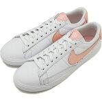 NIKE ナイキ レディース スニーカー 靴 WMNS BLAZER LOW LE ウィメンズ ブレーザー ロー LE ホワイト/ストームピンク [AV9370-114 FW18]