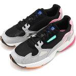 adidas Originals アディダス オリジナルス レディース FALCON W ファルコン ウィンメンズ スニーカー 靴 Cブラック/Cブラック/ライトグラナイト [BB9173 FW18]