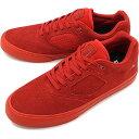 【ラスト1足27.0cm】【コラボモデル】エメリカ Emerica レイノルズ3 G6 バルカ REYNOLDS 3 G6 VULC BAKER スケシュー スケートシューズ メンズ レディース スニーカー 靴 RED HO18 ts