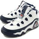 【楽天カードで最大16倍】フィラ FILA メンズ グラントヒル1 GRANT HILL 1 スニーカー 靴 ホワイト/Fネイビー/Fレッド ホワイト系 [F0410-0215 FW19]