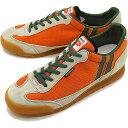 【9/19限定!楽天カードで最大13倍】【返品送料無料】PATRICK パトリック スニーカー BRONX ブロンクス メンズ・レディース 日本製 靴 ORG オレンジ [0065-J]【定番モデル】