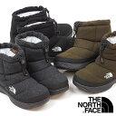 ザ ノースフェイス THE NORTH FACE レディース TNF ヌプシ ブーティー ウール 5 ショート W Nuptse Bootie Wool V Short ウィンターブーツ スノーブーツ 撥水 防寒靴 NFW51979 FW19