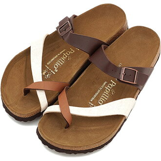 BIRKENSTOCK Birkenstock Womens mens Sandals papirio Papillio TABORA Tavola Gradation Brown ( 210551 ) fs3gm