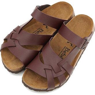 Betula ベチュラ BY BIRKENSTOCK Lambad sandals lambada dark brown (BL775343) / ビルケンシュトックレディースメンズ
