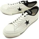 【即納】CONVERSE コンバース スニーカー ONE STAR J ワンスター J ホワイト/ブラック(32346510 FW12)【e】【bpl】【あす楽対応】