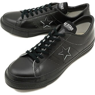 CONVERSE Converse sneakers ONE STAR J onestar J black monochrome ( 32346517 FW12 ) fs3gm