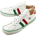 [immediate delivery] [comment model] maccheronian macaroni Ann sneakers 2,215L leather WHITE/GREEN/RED (2215L-MF SS13) [bpl] [tomorrow easy correspondence]