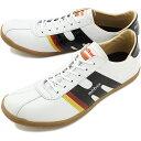 【即納】mobus MUNDEN モーブス スニーカー 靴 ミュンデン S.WHT/BLK ENAMEL (M0804-1720E)【コンビニ受取対応商品】