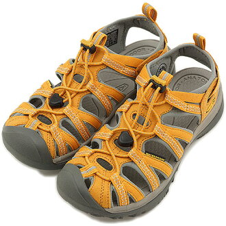 KEEN Kean WMN Whisper sports sandals we spar women Golden Yellow/Neutral Gray (1008451 SS13) fs3gm