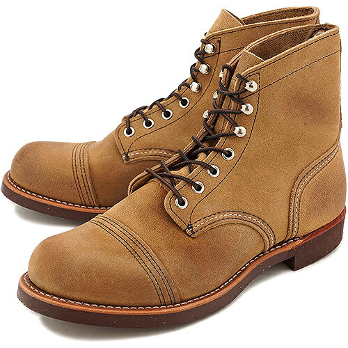 【返品サイズ交換可】レッドウィング アイアンレンジ ワークブーツ REDWING 8113 IRON RANGE BOOTS HAWTHORNE MULESKINNER ROUGHOUT 8113 靴