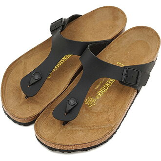 BIRKENSTOCK Birkenstock women's men's GIZEH sandal GIZEH black ( 043691-CLASSIC )