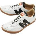 【即納】mobus MUNSTER モーブス スニーカー 靴 ミュンスター S.ホワイト/ブラッククロコ (M0403T 1720C)【コンビニ受取対応商品】