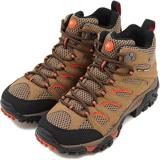 MERRELL メレルレディーススニーカー MOAB MID GTX Moab mid Gore-Tex women OTTER/ORANGE (57762) fs3gm
