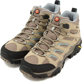 MERRELL Merrell Womens sneakers MOAB MID GTX Moab mid Gore-Tex Womens DUNE ( 87318 ) fs3gm