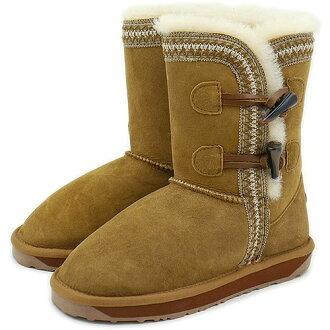 emu emu sheepskin boots ALBINA LO アルビナロー CHESTNUT (W10832 FW13) fs3gm