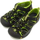 KEEN キーン サンダル 靴 YOUTH Newport H2 ウォーターシューズ ニューポート H2 ユース[ジュニアサイズ] Black/Lime Green[1009965 SS..