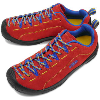 It is fs3gm (1002667 FW11) KEEN Kean MENS Jasper trekking shoes sneakers jasper men Red/Blue (SMU)