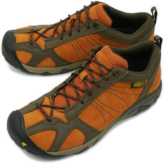 KEEN keen MENS Ambler trekking Shoes Sneakers Ambler men's Bombay Brown/Wren ( 1002278-BBWR ) fs3gm