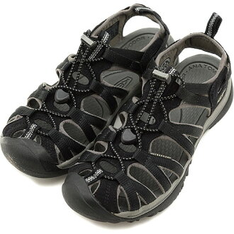 KEEN keen WMNS Whisper Sport Sandals whisper women's Black/Gargoy ( 1003709 ) fs3gm