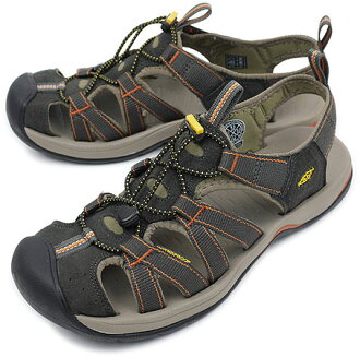 KEEN Kean Kanyon MNS sports sandals canyon men Black Olive/Brindle (1002133 SS10) fs3gm