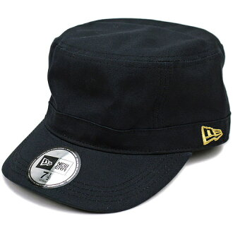 Gold NEWERA new era Cap CAP Cap WM-01 military cap black flag (SC N0000190) (NEW ERA) きゃっぷ CAP and