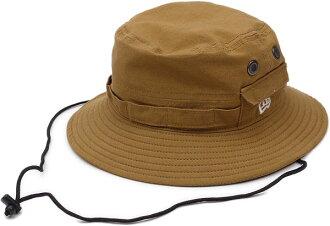 NEWERA new era NEW ERA Cap ADVENTURE adventure Hat cotton canvas duck Tan CAP Hat ( N0016806 ) fs3gm