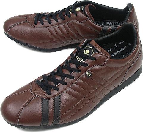 PATRICK パトリック スニーカー メンズ レディース 靴 SULLY シュリー ダークブラウン(26855 FW08)日本製 Made in Japan