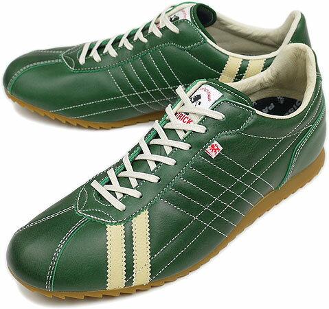 PATRICK パトリック スニーカー メンズ レディース 靴 SULLY-LE シュリー レザー GRN(28948 FW09)日本製 Made in Japan