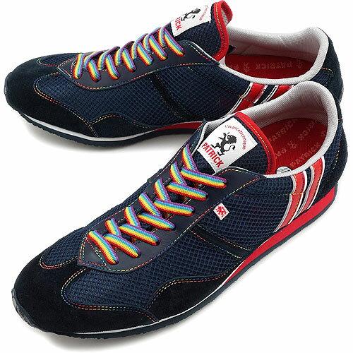 PATRICK パトリック スニーカー メンズ レディース 靴 C-STADIUM クールスタジアム RNBW(27249 SS12)日本製 Made in Japan