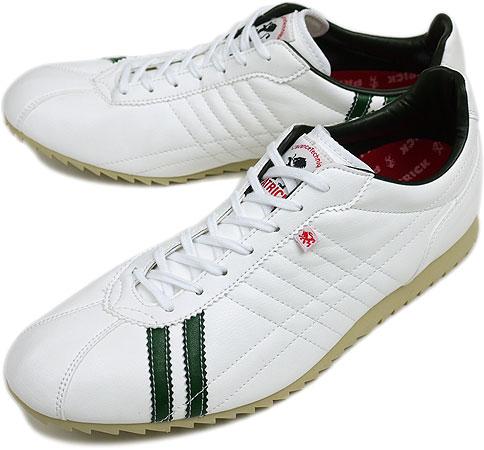PATRICK パトリック スニーカー メンズ レディース 靴 SULLY シュリー ホワイト/グリーン(26958 SS09)日本製 Made in Japan