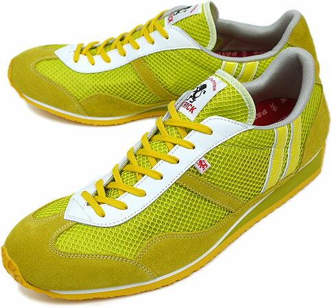 PATRICK パトリック スニーカー メンズ レディース 靴 C-STADIUM クール スタジアム イエロー(27935 SS09)日本製 Made in Japan