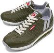 【返品無料対応】PATRICK パトリック スニーカー メンズ レディース 靴 MARATHON-L マラソン レザー OLV(98158 FW10)日本製 Made in Japan