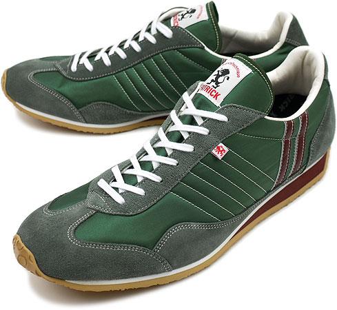 PATRICK パトリック スニーカー メンズ レディース 靴 STADIUM スタジアム FOREST(23258 FW10)日本製 Made in Japan