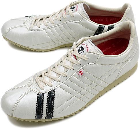 PATRICK パトリック スニーカー メンズ レディース 靴 SULLY シュリー W/NOIR(26231 SS11)日本製 Made in Japan